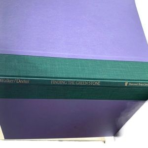 Finding the Green Stone Hardback Book 1st Edition